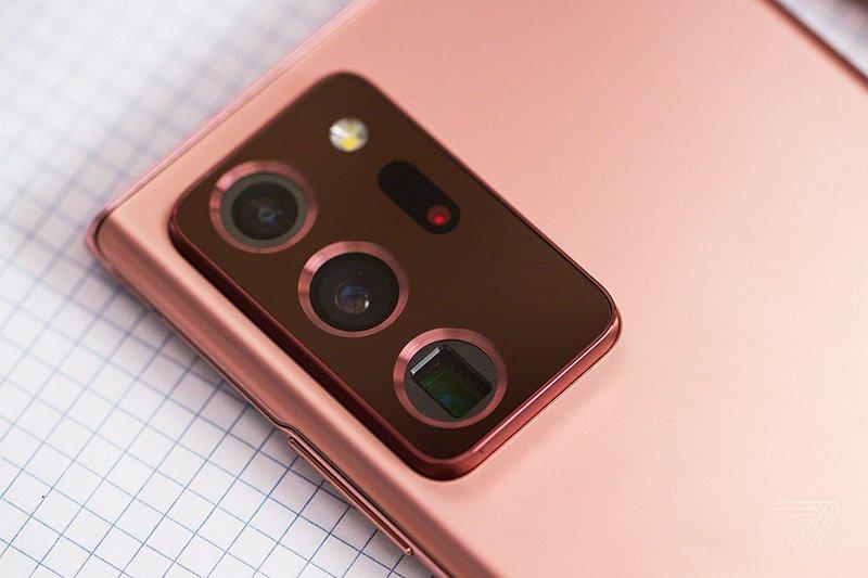تصویری از ماژول دوربین گلکسی نوت 20 اولترا