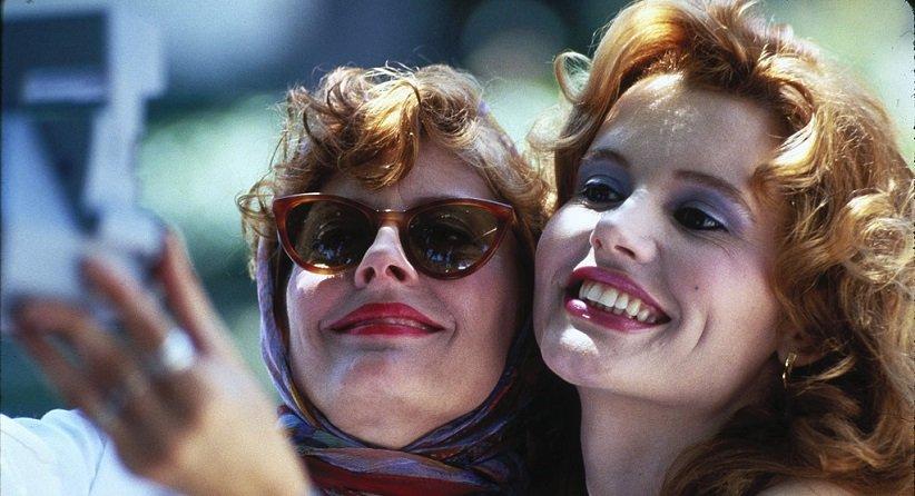 نمایی از فیلم تلما و لوییز - بهترین فیلمهای دهه 90 میلادی