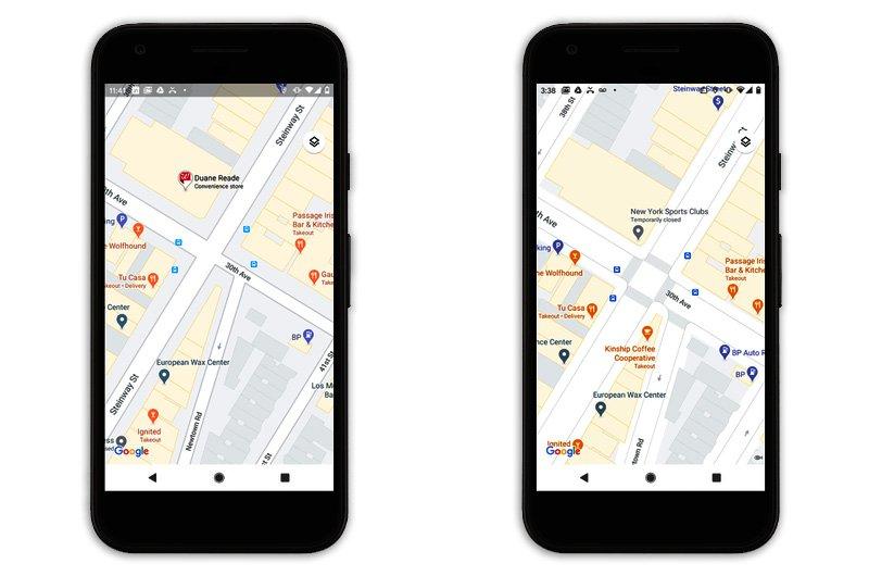 شکل تازهی خیابانها در گوگل مپ