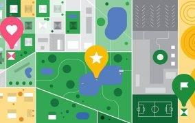 مکانهای ذخیر شده در گوگل مپ
