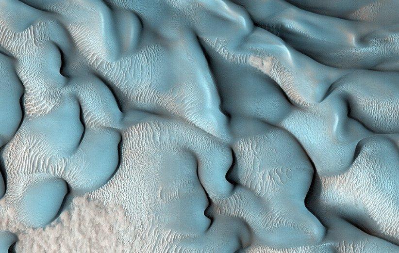 تپههای شنی مریخ