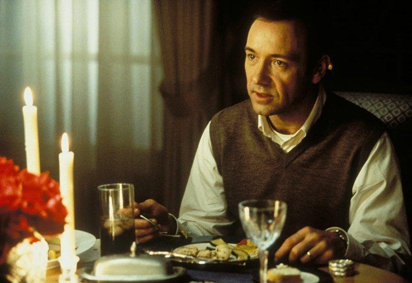 نمایی از فیلم زیبایی آمریکا - بهترین فیلمهای دهه 90 میلادی