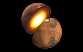 ساختار درونی مریخ