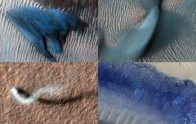 تصاویر 15 سالگی مدارگرد شناسایی مریخ
