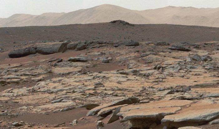 دهانهی گِیل مریخ از نگاه کنجکاوی