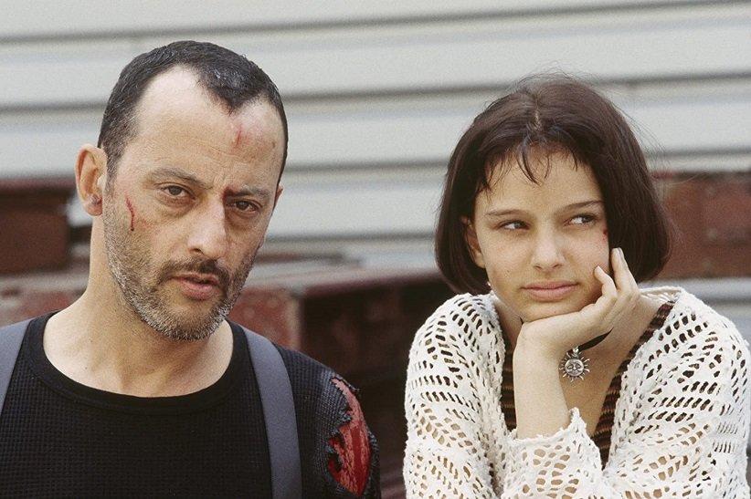 نمایی از فیلم لئون - بهترین فیلمهای دهه 90 میلادی