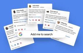 کارتهای مردم در جستوجوی گوگل
