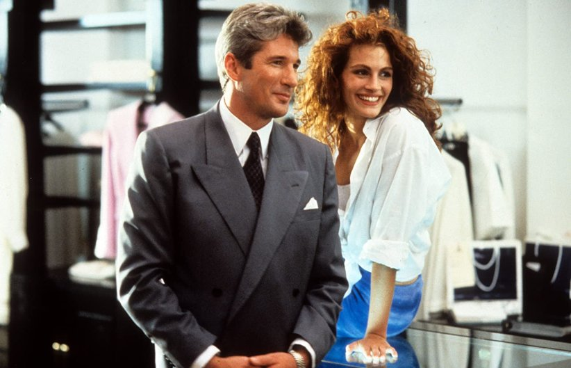 نمایی از فیلم زن زیبا - بهترین فیلمهای دهه 90 میلادی
