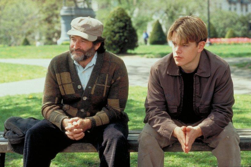 نمایی از فیلم ویل هانتینگ نابغه - بهترین فیلمهای دهه 90 میلادی