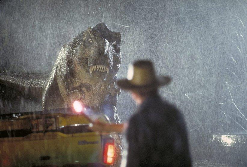 نمایی از فیلم پارک ژوراسیک - بهترین فیلمهای دهه 90 میلادی