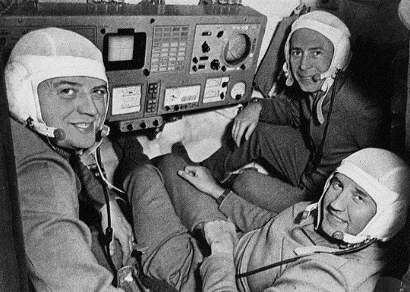 فضانوردان ماموریت سایوز ۱۱