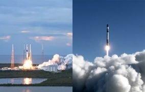 پرتابهای راکت لب و اسپیسایکس
