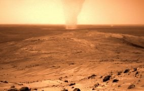 گردباد شنی در مریخ از نگاه مریخنورد روح