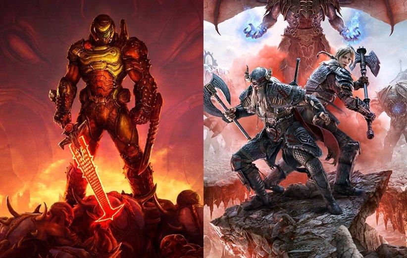 بازی Doom Eternal و بازی Elder Scrolls Online