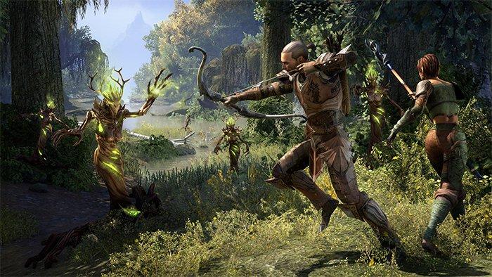 نمایی از بازی The Elder Scrolls Online
