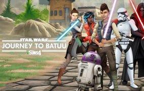 بازی The Sims 4 Star Wars: Journey to Batuu