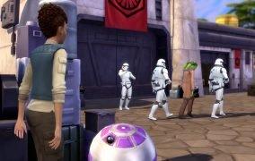 تریلر جنگ ستارگان The Sims 4