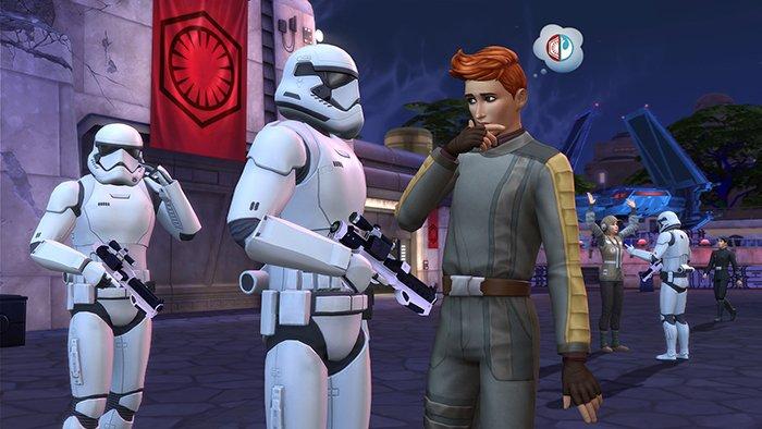 نمایی از بازی The Sims 4 Star Wars: Journey to Batuu