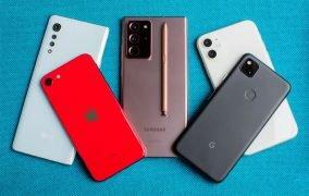 آمار فروش گوشی هوشمند سال 2020
