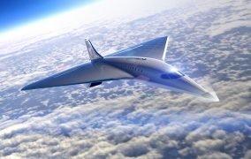 طرح هواپیمای فراصوت ویرجین گلکتیک