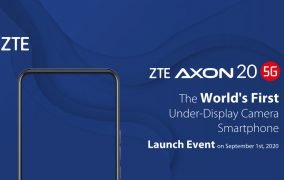 دوربین زیر نمایشگر ZTE Axon 20