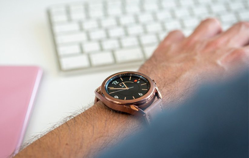 ساعت هوشمند گلکسی واچ 3 برنزی