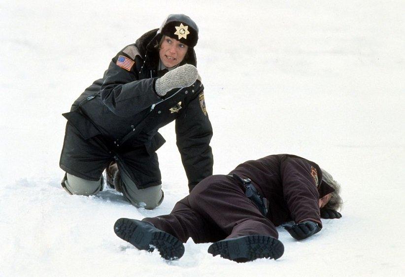 نمایی از فیلم فارگو - بهترین فیلمهای دهه 90 میلادی
