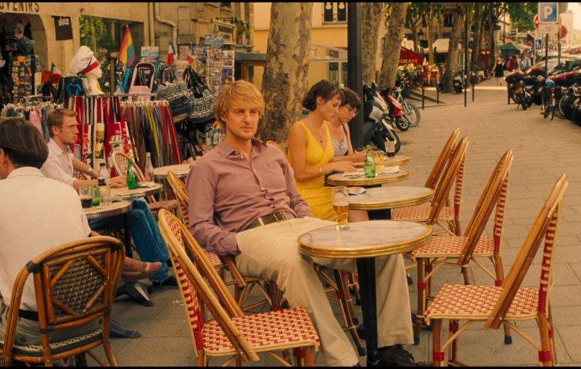 نمایی از فیلم نیمه شب در پاریس