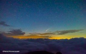 عکاسی با دوربین گوشی هواوی P40 پرو از دنبالهدار نئووایز