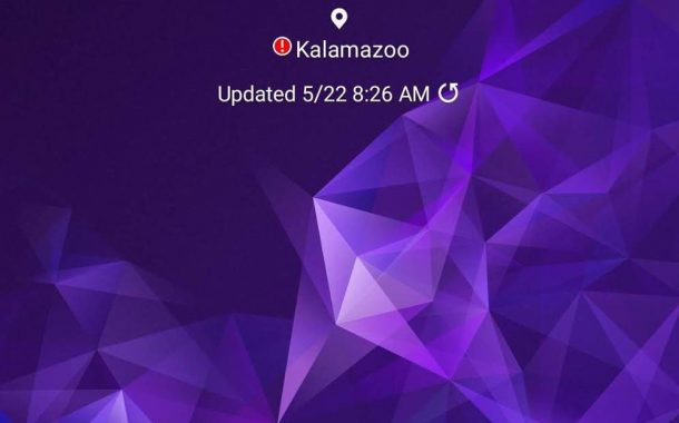صفحه اصلی رابط کاربری One UI