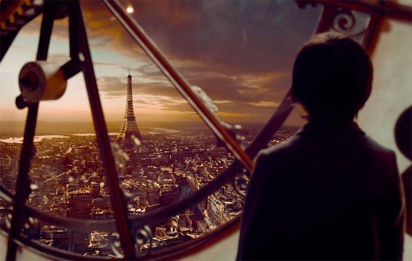 برج ایفل در فیلم هوگو