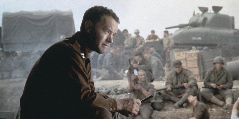نمایی از فیلم نجات سرباز رایان - بهترین فیلمهای دهه 90 میلادی