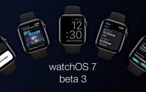 سومین نسخهی بتای عمومی watchOS 7