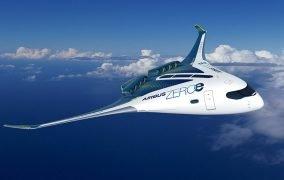 هواپیمای بال-بدنه ترکیبی ایرباس با سوخت هیدروژن