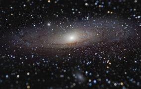 نمای نزدیک از کهکشان آندرومدا