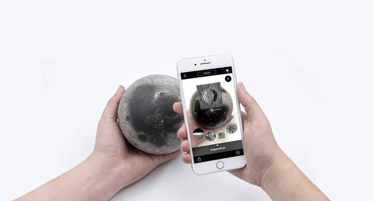 نرمافزار واقعیت افزودهی ماه از AstroReality