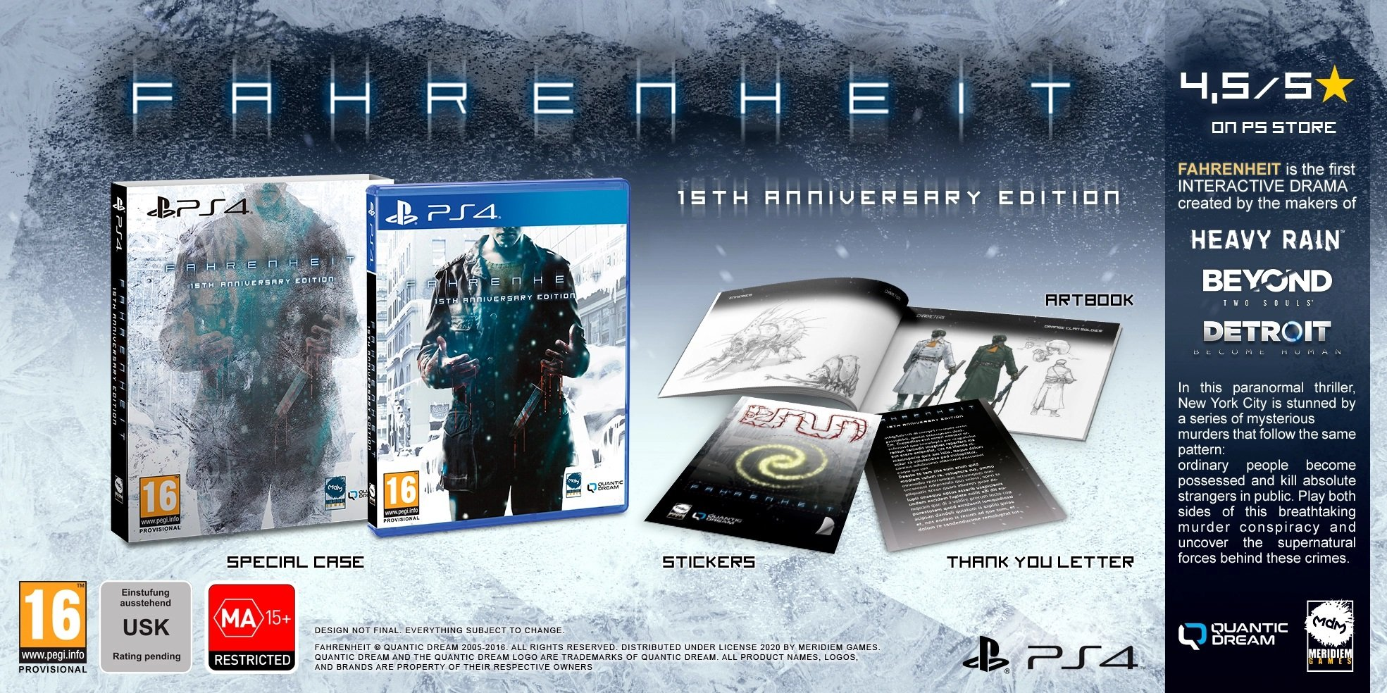بسته بازی فارنهایت PS4
