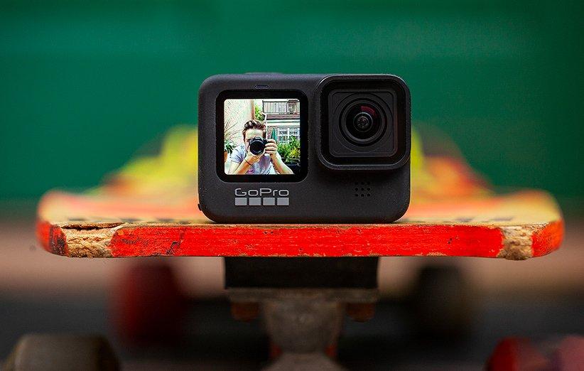 تصویری از بخش جلویی دوربین گوپرو هیرو 9 بلک