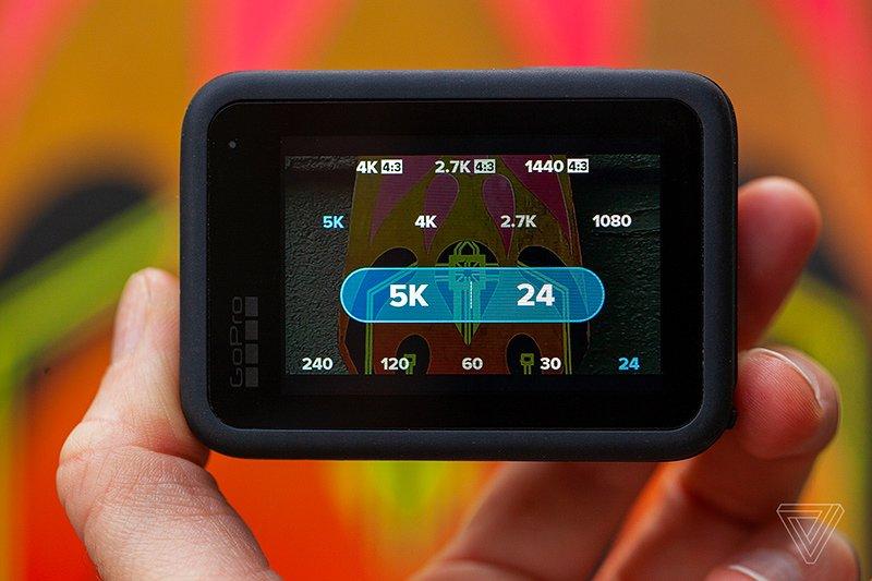 تصویری از نمایشگر پشتی گوپرو هیرو 9 بلک
