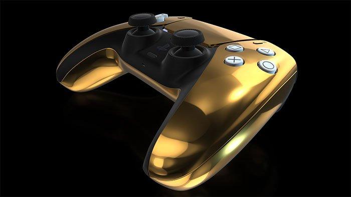 دسته PS5 طلایی