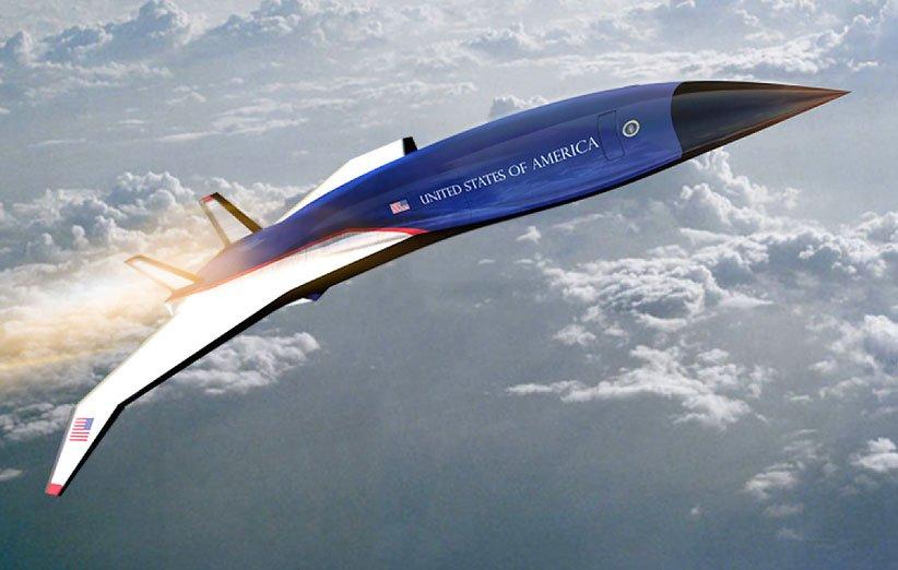 طرح هواپیمای فراصوت هرمیوز برای ریاست جمهوری آمریکا
