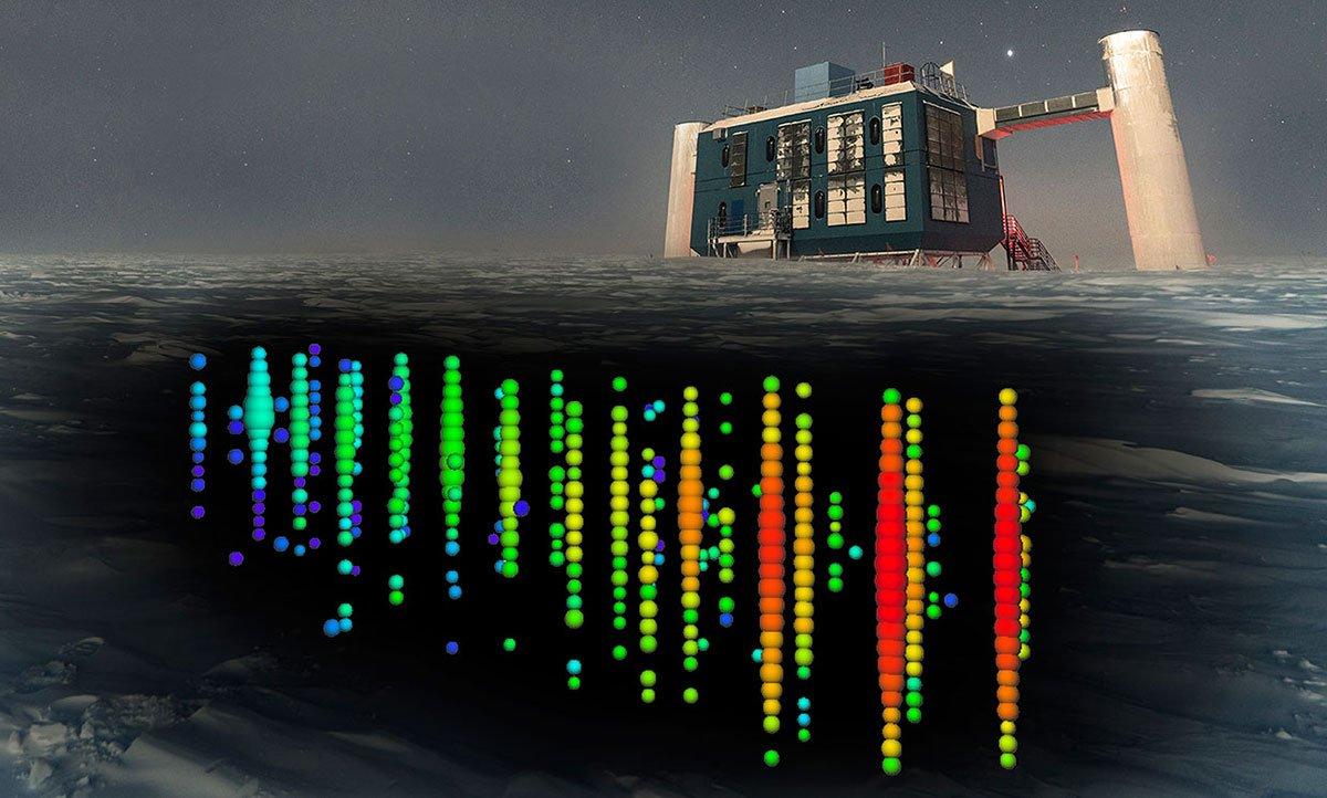 رصدخانهی ردیاب نوترینو آیسکیوب