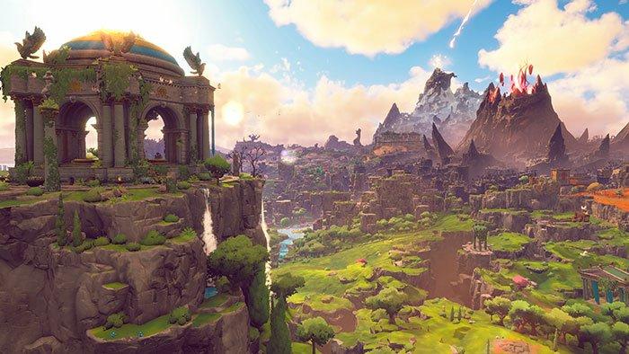 نمایی از بازی Immortals Fenyx Rising