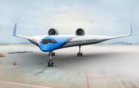 هواپیمای Flying-V دانشگاه دلفت و KLM