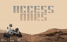 پروژهی تور مجازی مریخ از گوگل و ناسا