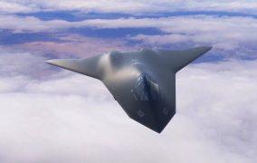 طرح مفهومی جنگندهی NGAD نیروی هوایی آمریکا