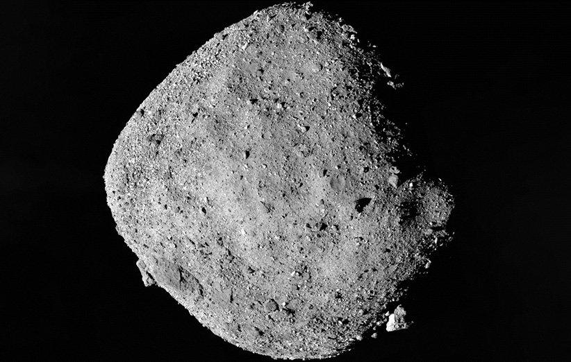 نمایی از سیارک بنو
