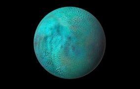 نیمکرهی شمالی قمر انسلادوس زحل