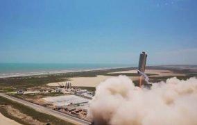 جهش آزمایشی نمونهی اولیهی فضاپیمای استارشیپ SN6