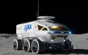 لونار کروزر ژاپن بر روی ماه